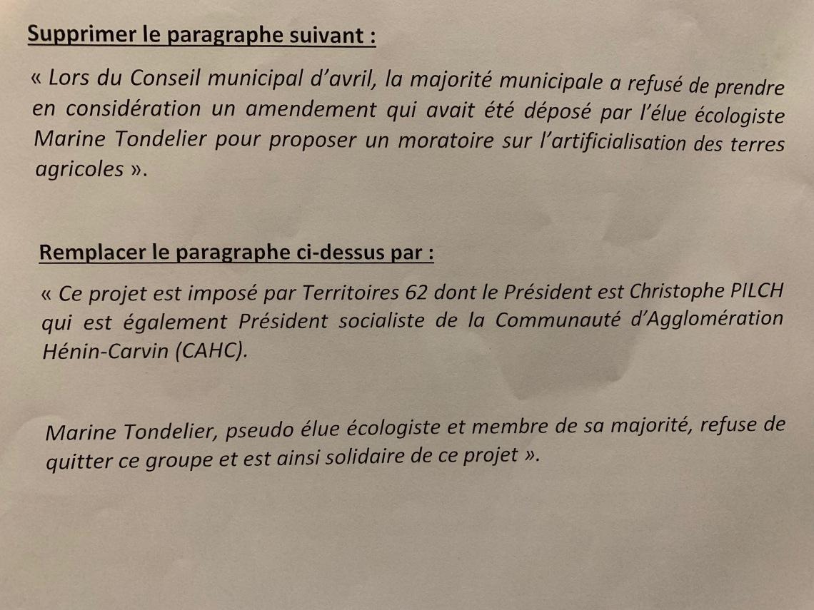 amendement Bilde Parcolog Pilch.JPG